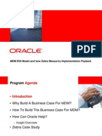 Oracle Mdm Business Case