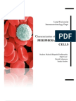 Characterization of leucocytes in PERIPHERAL BLOOD CELLS