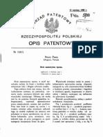 Nuri Pasza Pistolet Patent Ow Any - PL11813B1