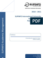 Guide Des Rapports de Stage 2010 - 2011