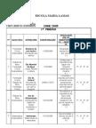 Plano Anual de Actividades 2ºAno 2008-2009