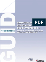 Communication Responsable - guide MEDEF
