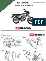 _despiece Beta Bk 150 Ohc