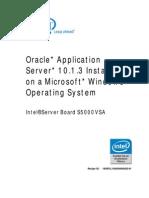 Install App Server(V10.1.3)