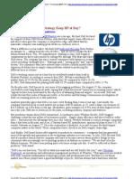 Knowledge at Wharton - Dell Startegy HP