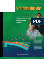 Sniffing the Air - Lawrence Livermore Lab - Sensor Polymer Bend Metal Can Tile Aver