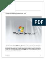 10 Steps to Harden Windows Server 2008