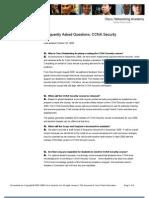 CCNA Security Faqs