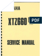 Yamaha Tenere 3YF Service Manual Chapter 0 - Intro
