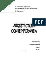 Arquitectura Contemporanea Frank