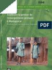 Améliorer la gestion de l'enseignement primaire à Madagascar - Résultats d'une expérimentation randomisée (World Bank - 2010)