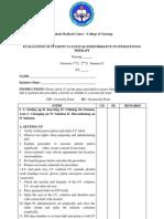 Evaluation Tool