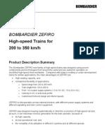 Bombardier Zefiro Technical Description En