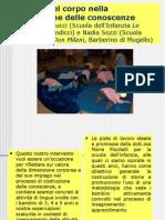 Un progetto che introduce corpo e sensorialità a scuola