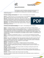 Classification Buildings Structures Fact Sheet