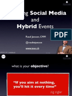 TNOC Embracing Social Media and Hybrid Event Strategy Webinar