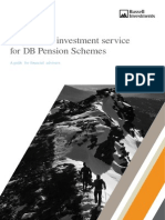A specialist investment service for DB Pension Schemes