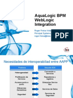 Aqualogic BPM WebLogic Integration