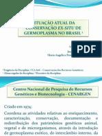 Conservação ex situ no Brasil