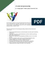 Characteristics of Social Entrepreneurship