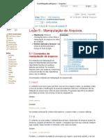 5 LicaoManipulacaoArquivos  GrupoLinux  TWiki