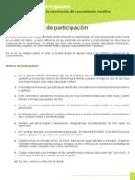 normas de participacion