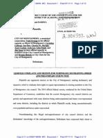Complaint Graves v. Montgomery