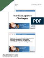 11-Pharmacovigilance.challanges