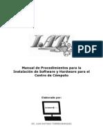 Manual de Procedimientos de Instalacion