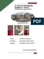 Facultad de Ingenieria Quimica y Textil
