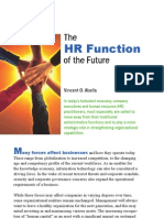 The Hr Function of the Future