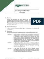 Asset Management Procedure