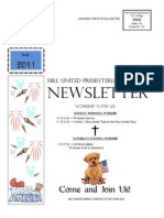 Body of Newsletter July 2011
