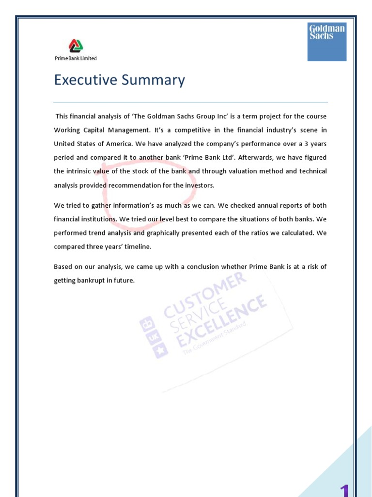 Risk Analysis of Goldman Sachs   Market Liquidity   Securities (Finance)