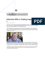 Interview With a Trading Legend Pts 1-8