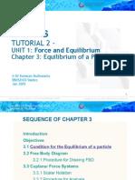 EBXS3103 (Chapter 3) Statics