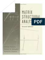 Matrix Structural Analysis Complete)