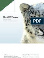 Snow Leopard Os x Server