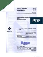 Norma Tecnica Colombiana Ntc 4145