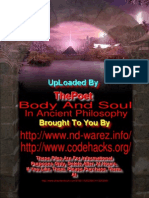 Body and Soul in Ancient Philosophy 18
