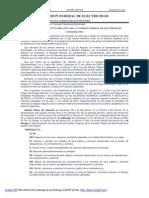 REFORMAS al Estatuto Orgánico de la Comisión Federal de Electricidad