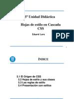Portales - Ud5 - Hojas de Estilo Css
