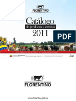 Catalogo Productos y Sevicios CTPS Florentino