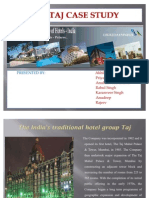 41527898 the Taj Case Study