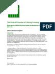 Lifelong Learning Report