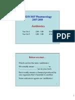 ghid de antibioterapie