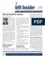 UHY Not-for-Profit Newsletter - July 2011