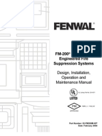 FenwalFm 200 Manual