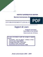 Environnement Légal et fiscal - Fayçal Derbel