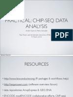 ChIP Seq Presentation